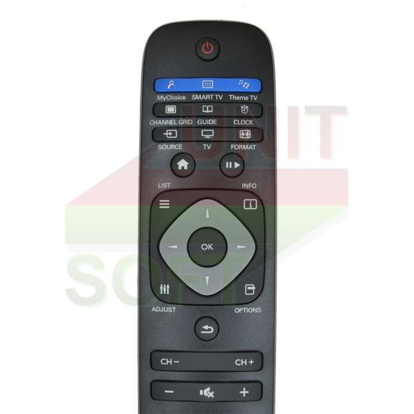 Philips RC2422-5499-0547 - оригинальный пульт ду для телевизора Philips - 323374
